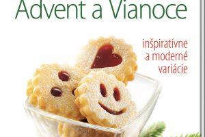 Nová kniha Advent aVianoce  rozširuje jedinečnú sériu kníh Pečieme sláskou