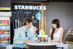 Kávu Starbucks rozširuje Shell po celom Slovensku