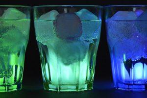 Rôzne druhy alkoholu – vodka, tequila, koňak
