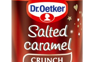 Nová dekorácia od Dr.Oetker – Salted caramel crunch:Netradičný ajedinečný – chrumkavý slaný karamel pre vaše dezerty