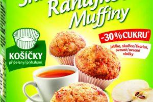 Jedinečná novinka od Dr.Oetker – prvé Raňajkové muffiny na trhu
