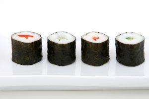 Nori: najznámejšia morská riasa vo vašej kuchyni