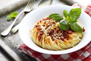 Spagety s omackou Bolognese