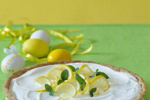 Lemon tart  na veľkonočnú pohodu