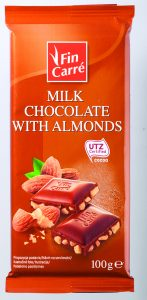 Milk Chocolate with almond