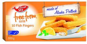 Ocean Sea 10 Fish Fingers