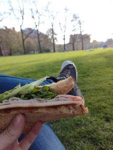 Sendvič v Hyde parku