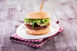 Classic burger soriginálnym burgrovým dipom