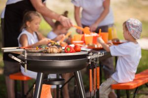 Grilovanie mäsa a zeleniny