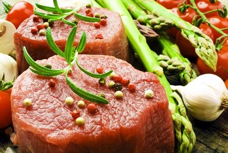 Okorenené mäso
