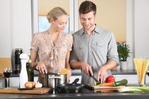 Krásna a oslnivá kuchyňa aj predsieň