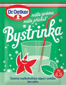 Bystrinka - šumivý nápoj na tráviacie problémy