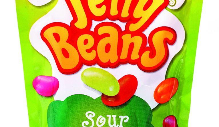Želé sladké cukríky, jelly beans