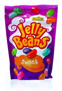 Želé kyslé cukríky, jelly beans