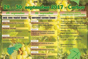 Pozvánka na Tokajské vinobranie v Čerhove