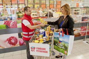 Slováci sú ochotní pomôcť ľuďom vnúdzi nákupom potravín až do hodnoty 6 eur