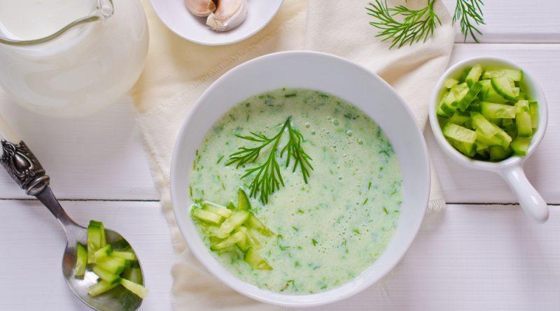 uhorková polievka