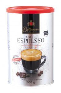 Bellarom Caffé Espresso Lidl káva Nazjedenie