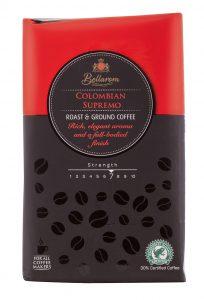 Bellarom Colombian Supremo Lidl káva Nazjedenie