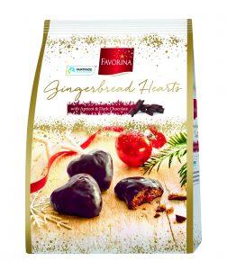 Favorina Gingerbread Hearts