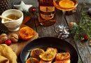 Losos na pomarančoch
