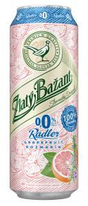 ZB Radler 0,0% Grapefruit & Rozmarín s