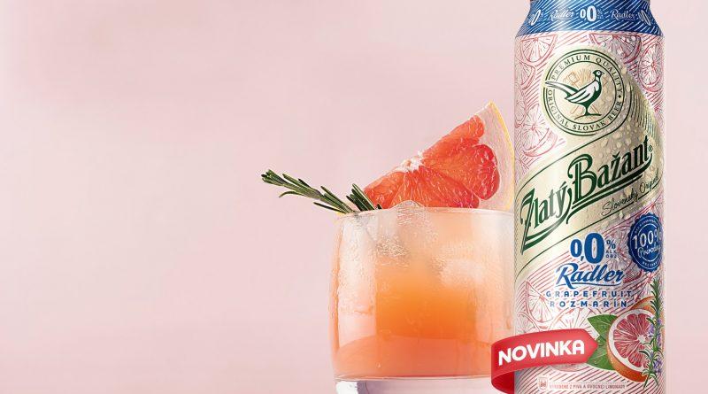ZB Radler 0,0% Grapefruit & Rozmarín_promo