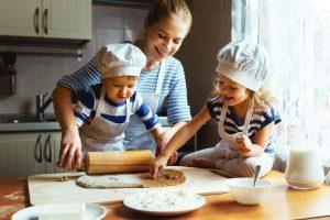 Varíme s deťmi: 5 kuchárskych kníh pre deti