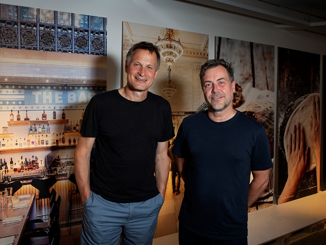 Claus Meyer and Michael la Cour s