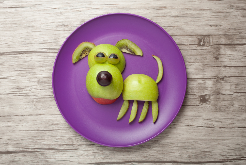 pes z ovocia