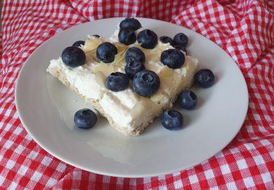 koláč s čučoriedkami