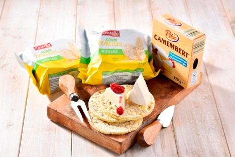 Lidl novinky - kukuričné chlebíky a camembert