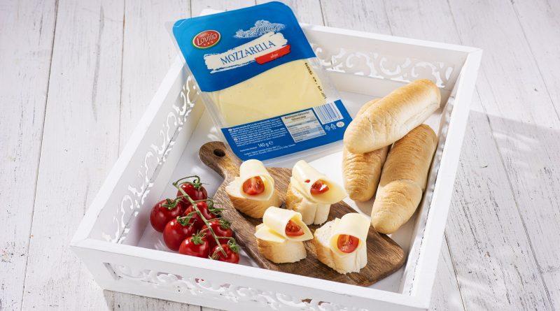 Lovilio Mozzarella slices