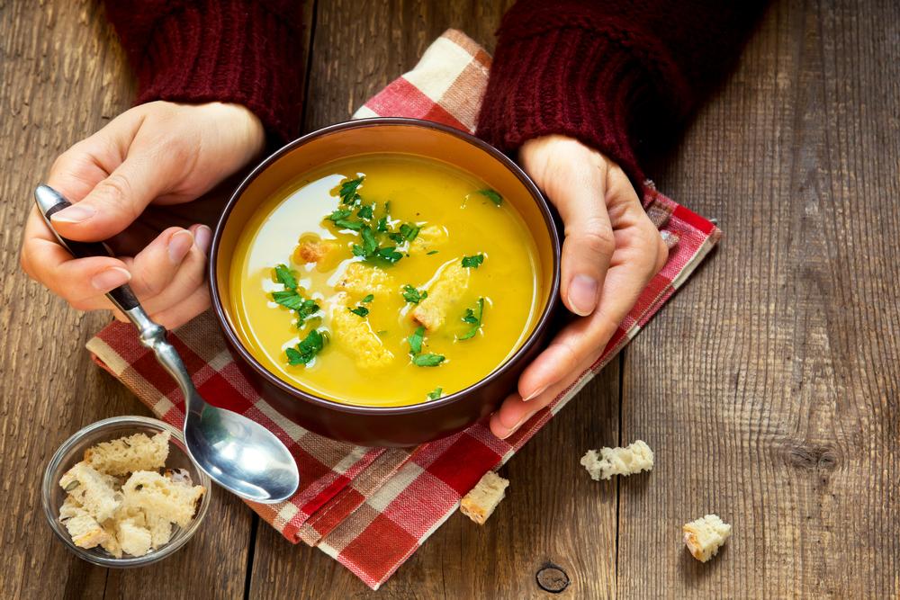 Jesenná polievka
