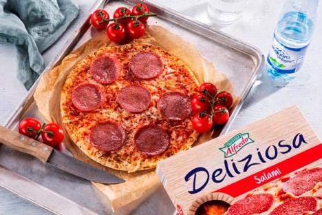 Pizza Lidl mrazena