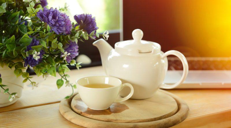 domáci čaj