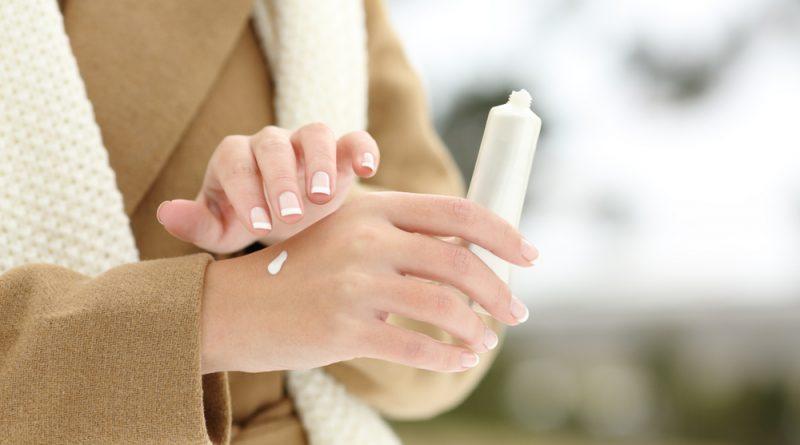 krémovanie rúk v zime