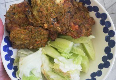 Brokolicovo-mrkvové placky