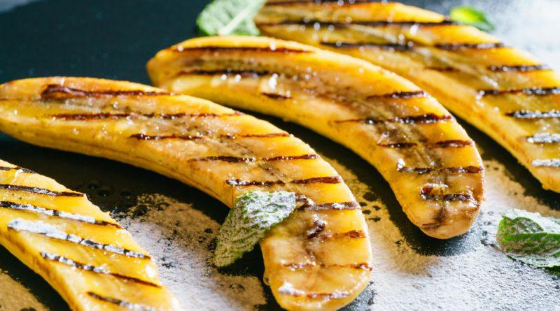 grilované banány