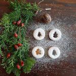 linecké koláčiky - vianočné koláčiky