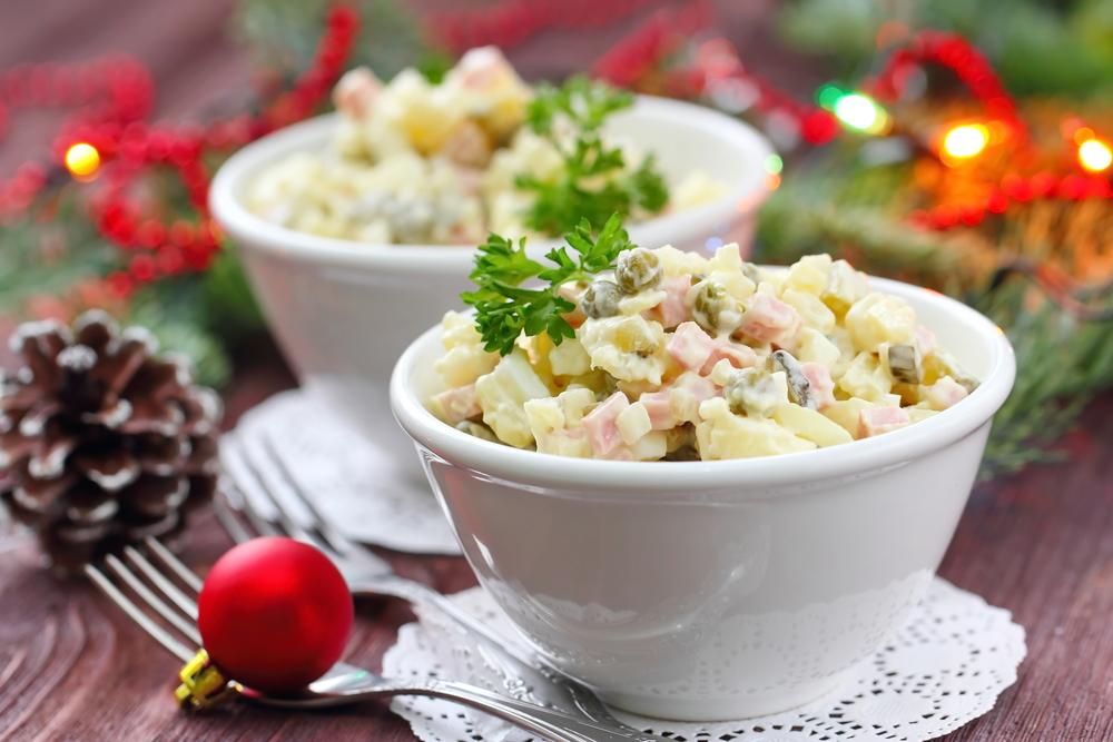 FIT zemiakový šalát