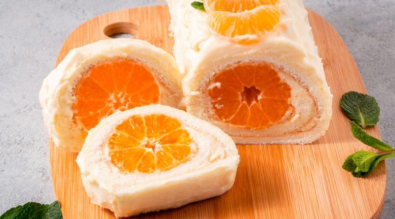 mandarínková roláda