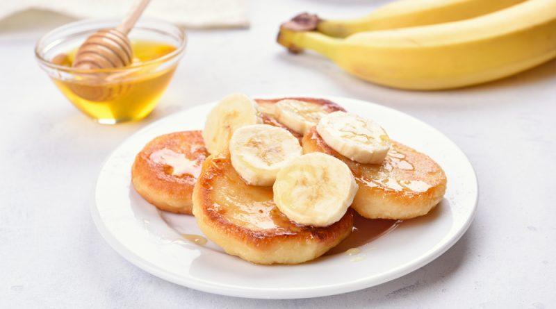 Zdravé banánové lievance