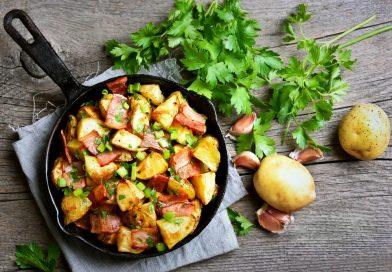 teplý zemiakový šalát