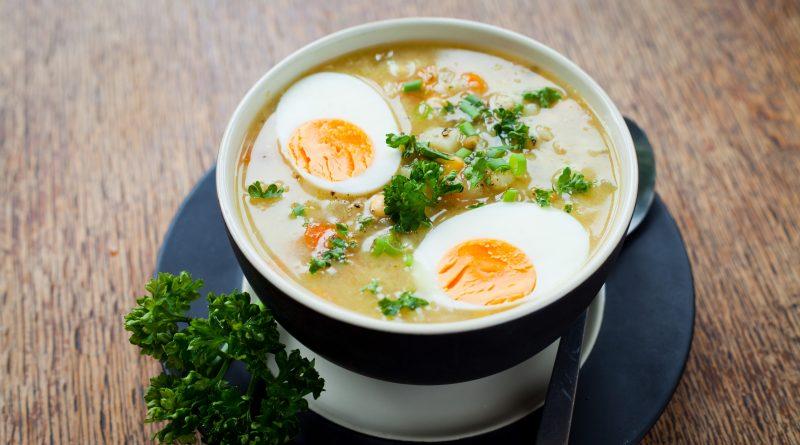 krúpová polievka