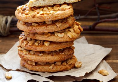 sušienky s arašidovými orieškami