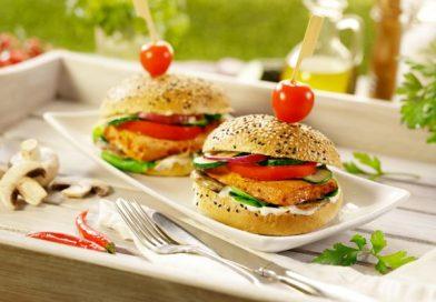 Sviezi burger s TOFU NA GRIL SWEET CHILLI bez produktu_Lunter